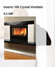 Inserto 100 Cristal Ventilato