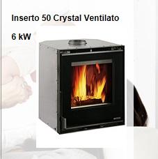 Inserto 50 Crystal Ventilato