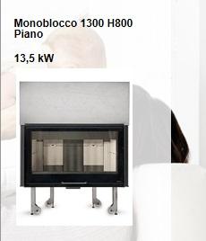 Monoblocco 1300 H800 Piano